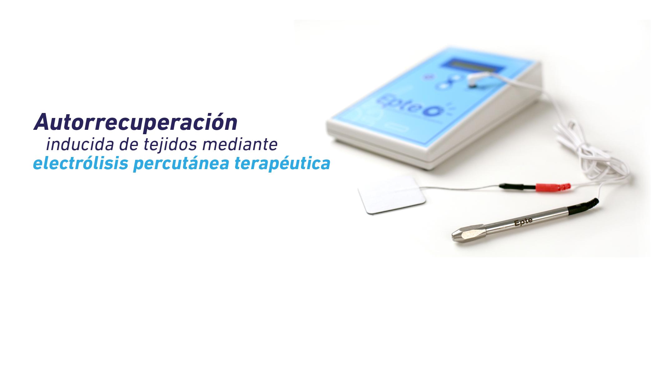 Electrolisis percutánea terapéutica